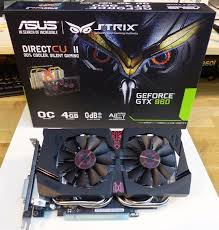 ASUS GTX960 STRIK DC11OC 4GB DDR5