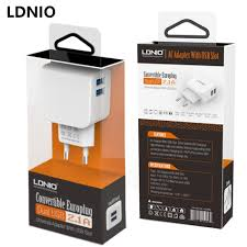 Adaptor Phones LDNIO 2A 2port AC56