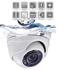 CCTV CAMERA SUPER HIGH RES 800TVL IP67
