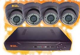 CCTV DVR KIT SUNBIO 4 CH Indoor