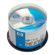 CD R HP +cone 50pcs