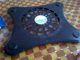 Cooling pad 1FAN Mtech 06 BLACK