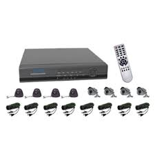 DVR KIT OUTDOOR 8 CHANNEL VG-H7408QK