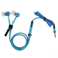 Earphone + Mic Zipper
