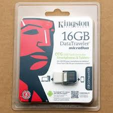 FLASHDISK KINGSTONE 16 Gb DUO OTG