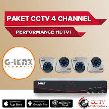 GD-8704 PAHD4CH Paket Value CCTV 4 Kamera