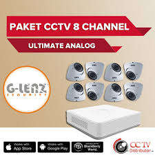 GD-8708 PAHD8CH Paket Value CCTV 8 Kamera