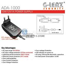 GLENZ ADA 1000 REAL Power Adaptor 1A