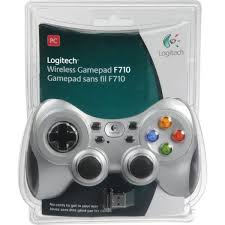 Game pad Logitech F-710 (game pad single getar WIRELESS)