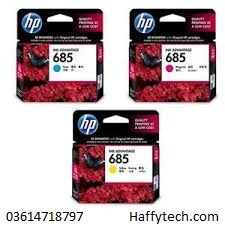 HP 685 color Cyan,Magenta,Yellow