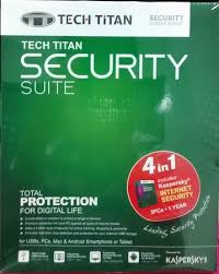 Kaspersky Tech Titan Security suite  (KIS 3 )