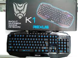 Keyboard Gaming  REXUS K1 Backlight multimedia