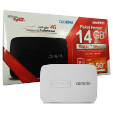 MIFI Alcatel MW40+Telkomsel 4G