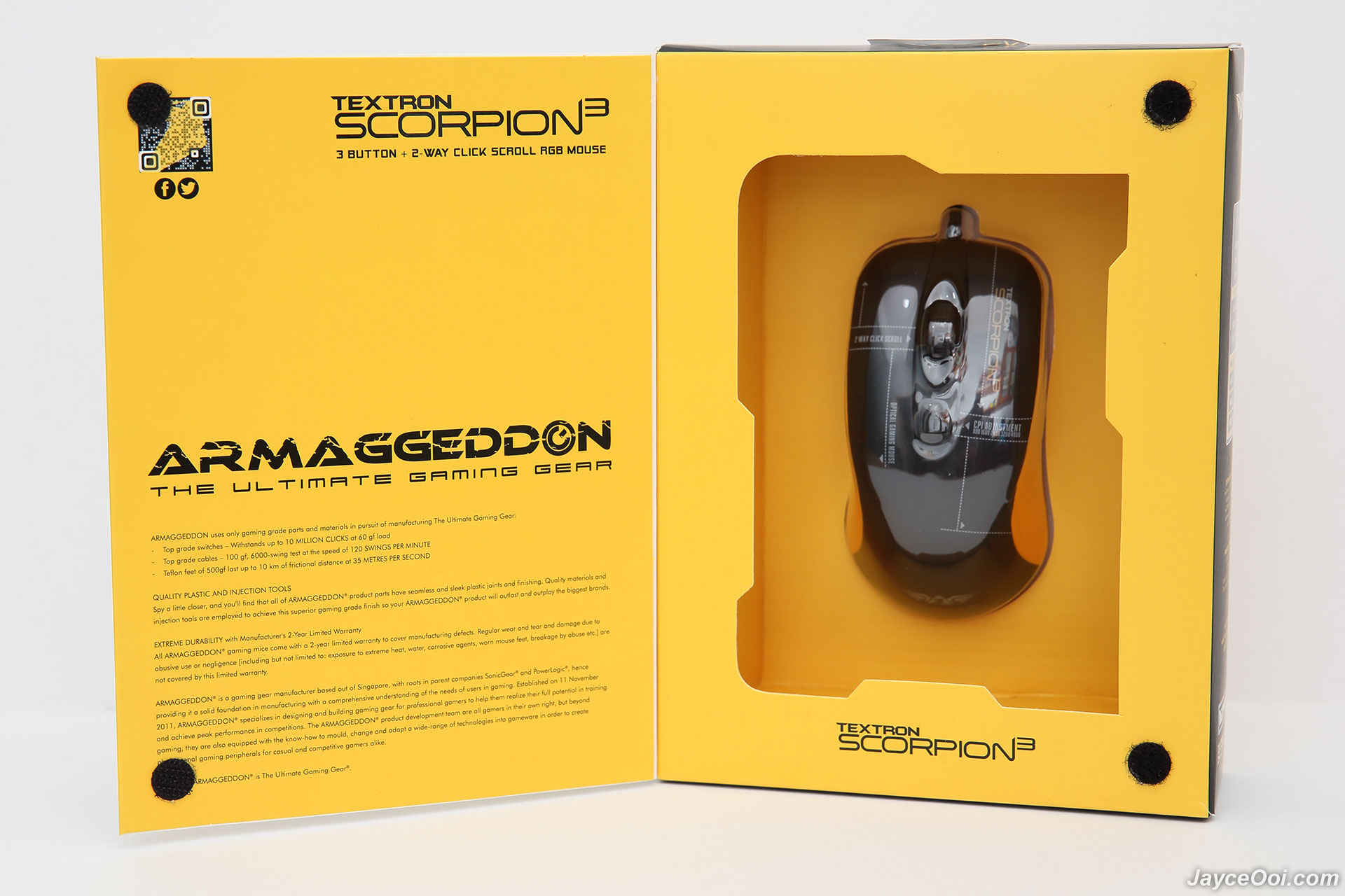 Mouse Gaming Armagedon Scorpion 3