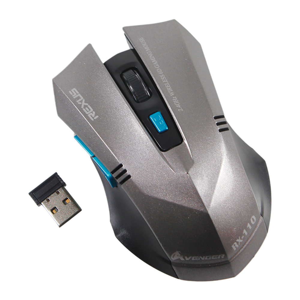 Mouse Gaming Wireless   5D  RX 110  REXUS