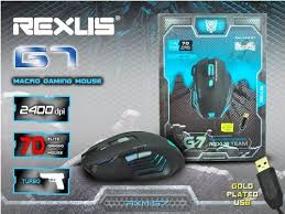 Mouse USB Gaming G7 REXUS