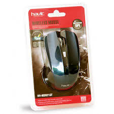 Mouse Wireless HAVIT Ms921Gt    (  tanpa batere )