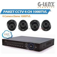 Paket Value CCTV 4 Camera G-lenz