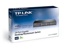 TP LINK Switch 24 Port Gigabit 10/100/1000 SG 1024D