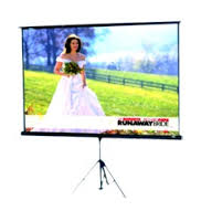 "Tripod Screen 96"" Focus"