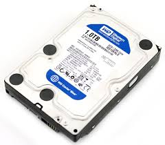 WD Blue 1TB  SATA3  chace 16 mb