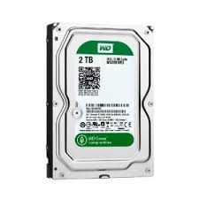 WD Green 2TB  SATA3   chace 64 mb
