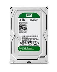WD Green 3TB  SATA3  chace 64 mb