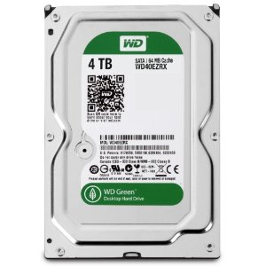 WD Green/ blue 4TB  SATA3 chace 64 mb