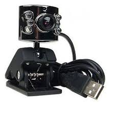 Webcam M-Tech 1.3MP 6 Lampu