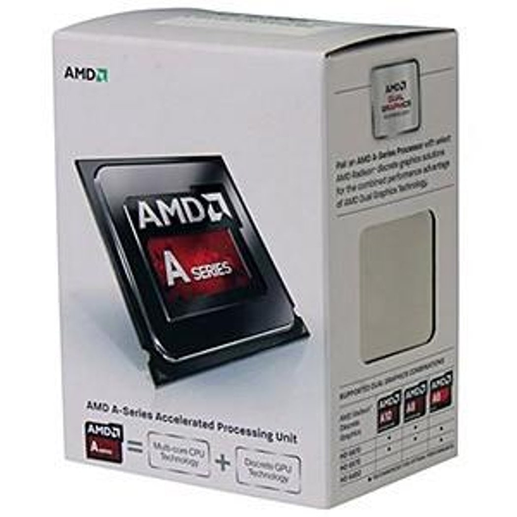 PROCESSOR AMD A Dual-Core APUs AMD A6-6300K  AD6300OKHLBOX
