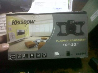 "Bracket LCD TV / Bracket LED TV 15""- 24"" Krisbow"